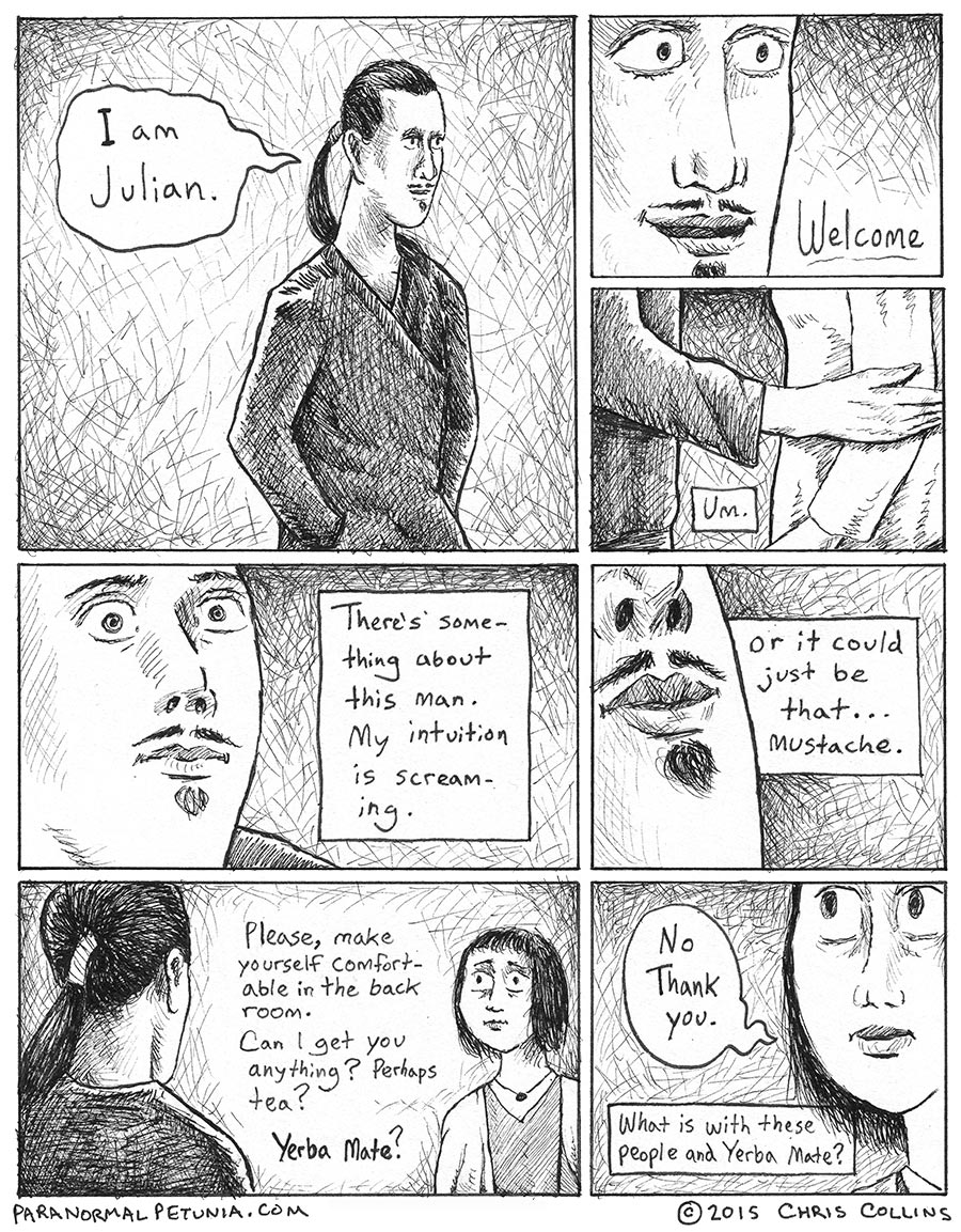 Paranormal Petunia: A Supernatural Webcomic
